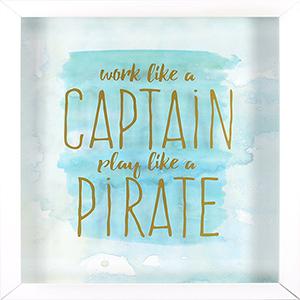 Captain Pirate Shadowbox