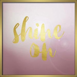 Shine On 24 In. Framed Wall Art