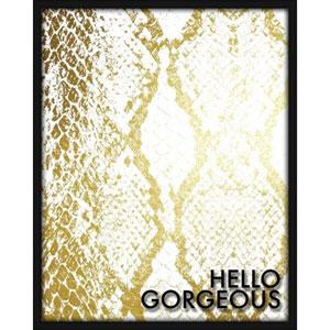 Hello Gorgeous 16 x 20 In. Shadowbox Wall Art