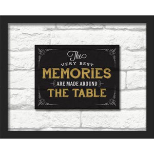 The Very Best Memories 20 x 16 In. Shadowbox Wall Art