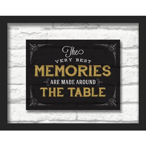 The Very Best Memories 14 x 11 In. Shadowbox Wall Art