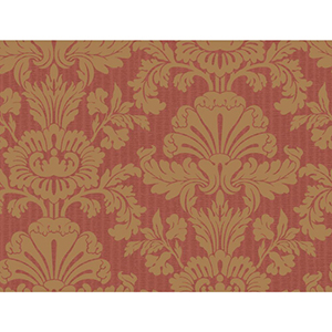 Inspired by Color Deep Red and Gold Wallpaper