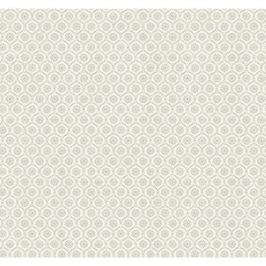 Ashford Black, White, Gray and Graphite Wallpaper