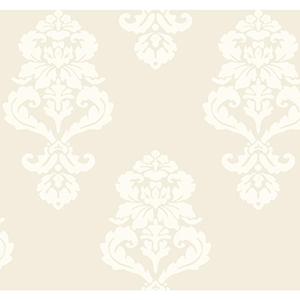 Ashford Black, White Beige and Cream Wallpaper
