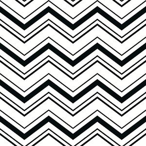 Ashford Black, Arctic White and Tan Wallpaper