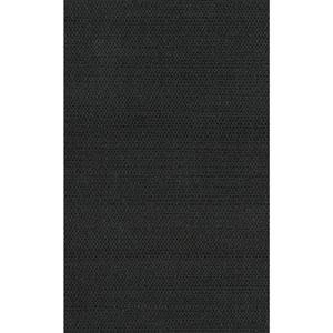 Candice Olson Natural Splendor Plain Sisals Black Wallpaper