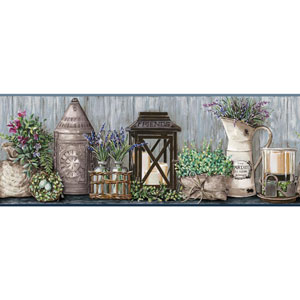 Country Keepsakes Multicolor Garden Border