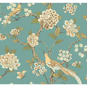 Ashford Toiles Fanciful Removable Wallpaper
