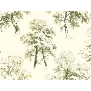 Ashford Toiles Deciduous Removable Wallpaper