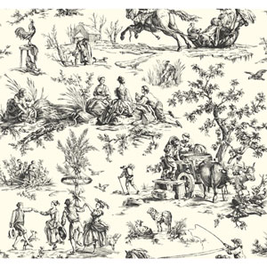 Ashford Toiles Seasons Toile Removable Wallpaper