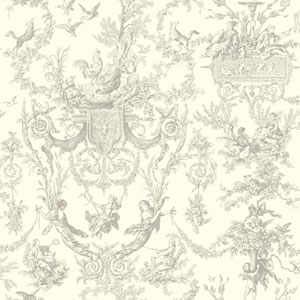 Ashford Toiles Old World Toile Removable Wallpaper