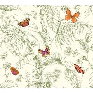 Ashford Toiles Papillion Removable Wallpaper