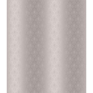 Charleston Silver and Grey Damask Pearl Wallpaper