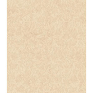 Charleston Pale Yellow and Gold Ombre Damask Texture Wallpaper