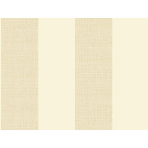 Ashford House Tropics Cream and Beige Grasscloth Stripe Wallpaper