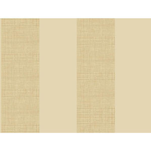 Ashford House Tropics Beige and Warm Beige Grasscloth Stripe Wallpaper