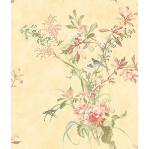 120th Anniversary Yellow Wild Flowers Wallpaper