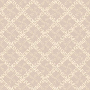 120th Anniversary Pink and Beige Shadow Trellis Wallpaper