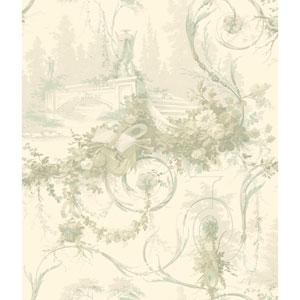 120th Anniversary Cream Bridge Scenic Wallpaper