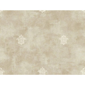Charleston Beige and Cream Woven Spot Wallpaper