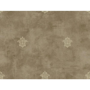 Charleston Tan and Beige Woven Spot Wallpaper