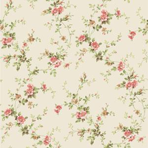 Casabella II Pearl Floral Trail Wallpaper