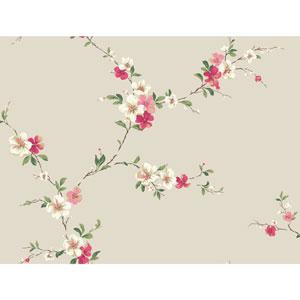 Casabella II Pearl Blossom Trail Wallpaper