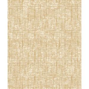 Mixed Metals Barkcloth Wallpaper