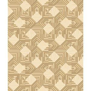 Mixed Metals Navajo Wallpaper