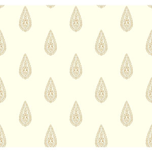 Antonina Vella Multicolor Kashmir Luxury Teardrop Wallpaper