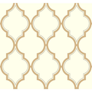 Antonina Vella Multicolor Kashmir Luxury Trellis Wallpaper