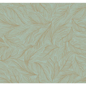 Antonina Vella Blue Kashmir Light As A Feather Wallpaper