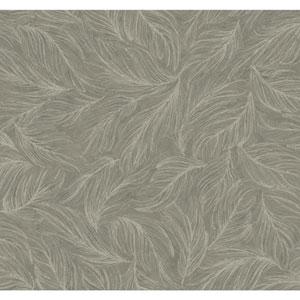 Antonina Vella Gray Kashmir Light As A Feather Wallpaper