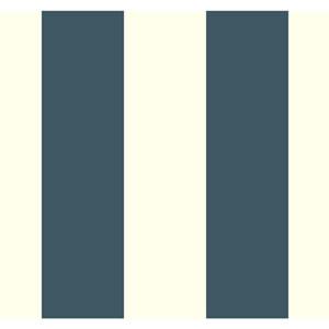 Antonina Vella Blue Kashmir Caravan Stripe Wallpaper