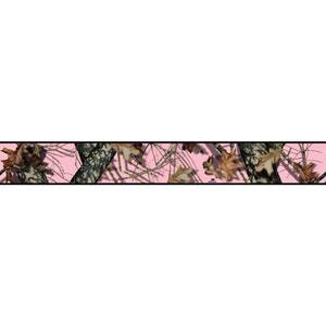 Border Portfolio II Mossy Oak Camo Removable Wallpaper Border
