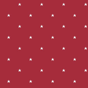 Room To Grow Red and White Stars Wallpaper