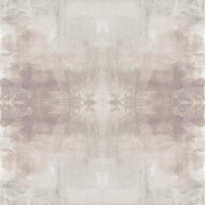 Carol Benson-Cobb Ghost Grey and Plum Wallpaper Panel