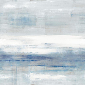 Carol Benson-Cobb Beneath Horizon Blue Wallpaper Panel