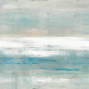 Carol Benson-Cobb Beneath Horizon Aqua Wallpaper Panel