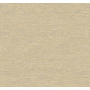 Natural Elements Gold and Beige Bamboo Wallpaper