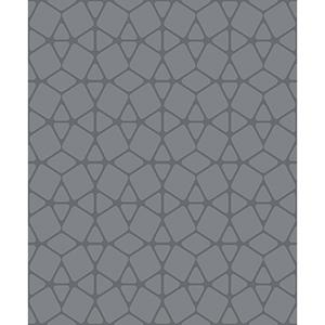 Culture Club Charcoal Geometric Wallpaper