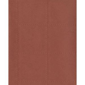 Menswear Checkmate Red and Orange Wallpaper