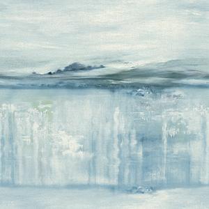 Coastal Impressions Blue Wallpaper