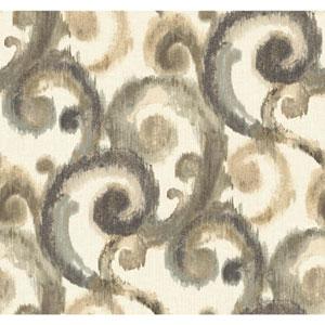 Candice Olson Modern Artisan Arabesque Wallpaper