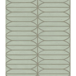 Candice Olson Breathless Pavilion Sage and Green Metallics Wallpaper