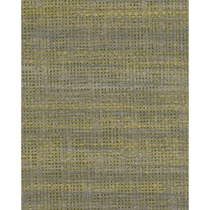 Candice Olson Breathless Alchemy Charcoal and Gold Metallic Wallpaper