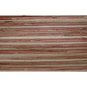Inspired by Color Red Grass Cloth Wallpaper