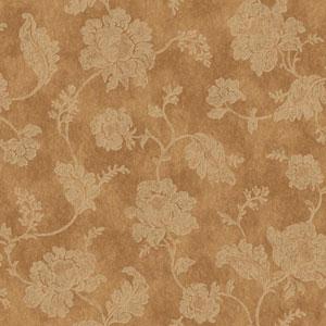 Jacobean Trail Bronze and Ecru Wallpaper