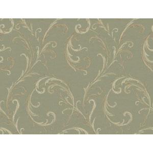 Georgetown Gallery Slender Acanthus Scroll Background Wallpaper