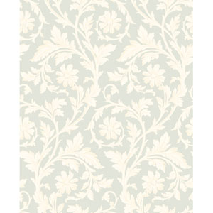 Georgetown Gallery Rose and Acanthus Scroll Wallpaper